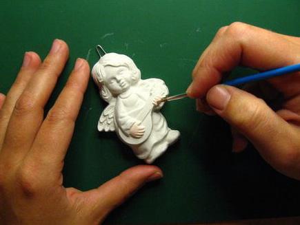 Malowanie figurek dla dzieci