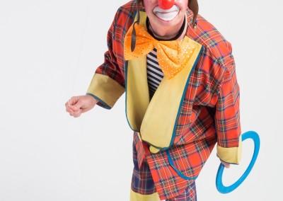 Klaun żongler