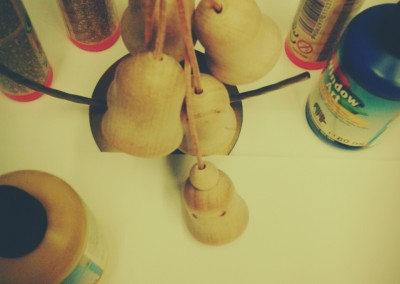 Drewniane dzwoneczki atrakcja